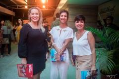 Priscila Veras, Angelica Freitas e Daniela Mirélio
