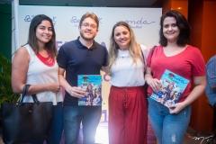 Sarah Monteiro, Gustavo Rios, Eveline Pessoa e Águeda Fernandes