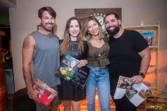 Tiago Maciel, Kelly Mota, Edith Gomes e Luiz Victor Torres