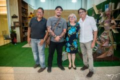 Ivan Patrício, Ed Couto, Tereza Leonilha e Elias Cavalcante