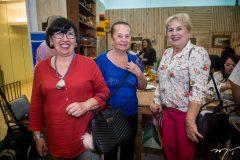 Milaide Nunes Bessa, Tereza Pamplona e Sônia Nobre