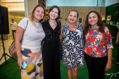 Ticiane Gomes, Patrícia Líbiman, Angelice Custonio e Armenia Rocha