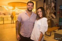 Felipe Nogueira e Andressa Ley