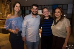 Maria Tereza Ramos, Ivan Prado, Samanta Albuquerque e Carla Pinto