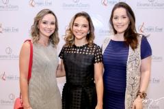 Celina Frota, Viviane Martins e Raquel Sucupira