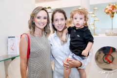 Celina Frota, Lara Rola e Lucas Frota