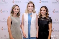 Celina Frota, Vanessa Mombach e Viviane Martins