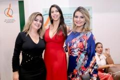 Denise Mendes, Jordana Lima e Geane Aguiar