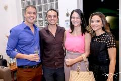 Fabrício Martins, Igor Costa, Ruana Rocha e Viviane Martins