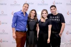 Fabricio e Viviane Martins, Luiza e Ricardo Bezerra