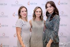 Patricia Caminha, Celina Frota e Vanessa Moura