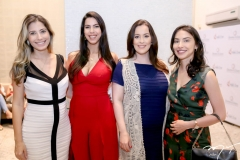 Rafaela Rocha,  Jordana Lina,  Raquel Sucupira e Lia Albuquerque