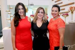 Raquel Bastos, Denise Mendes e Ranadia Jales