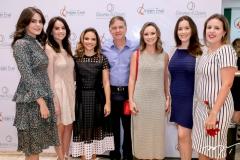 Vanessa Moura, Rachel Bezerra,Viviane Martins,Haim Erel,Celina Frota, Raquel Sucupira e Patricia Caminha