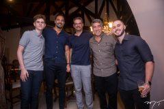 André Gadvohl, Cristiano Munayer, Roger Gradvohl, Cid Holanda e João Vitor