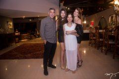 Cid, Lara, Manuela e Marciany Holanda