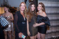 Daniele, Lara e Marciany Holanda