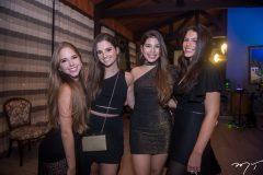Lara Macedo, Duda Gomes, Lara Holanda e Amanda Arruda