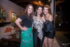Sinara, Ana Luiza Cavalcante e Marciany Holanda
