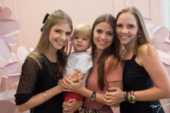 Giovanna Gripp, Benício Esteves, Naiana Gripp E Nathália Petrone