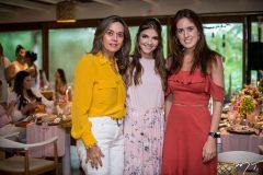 Cristina Esteves, Giovanna Gripp Esteves e Fernanda Esteves