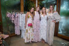 Germana Melo, Giovanna Gripp Esteves, Nathália Petrone e Lara Romcy