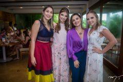 Giovanna Gripp Esteves, Jainara Diniz, Carliana Paiva e Nathália Petrone