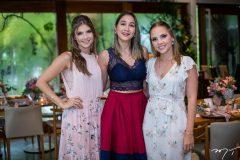 Giovanna Gripp Esteves, Jainara Diniz e Nathália Petrone