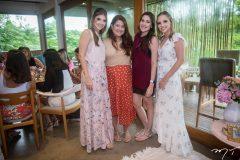 Giovanna Gripp Esteves, Raissa Tomaz, Patrícia Oliveira e Nathália Petrone