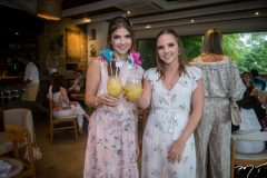 Giovanna Gripp Esteves e Nathália Petrone
