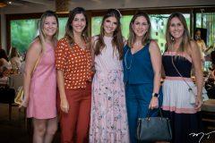 Lurdinha Brasil, Priscila Otoch, Giovanna Gripp Esteves, Ana Paula Rocha e Paula Brasil