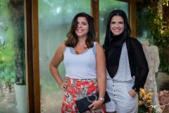 Manuela Líbima e Michele Skinner