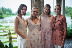 Nathália Petrone, Giovanna Gripp Esteves, Paulinha Sampaio e Karla Alexandrina