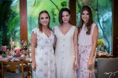 Nathália Petrone, Paulinha Sampaio e Giovanna Gripp Esteves