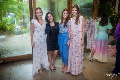 Nathália Petrone, Renata Fontenele, Naiana Gripp e Giovanna Gripp Esteves