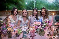 Paulinha Sampaio, Nathália Petrone, Giovanna Gripp Esteves e Márcia Travessoni