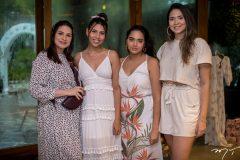 Talita Pinheiro, Beatriz Alves, Larissa Saraiva e Bruna Bringel