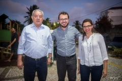 Adail Fontenele, Rogério Maia e Verena Lima