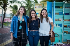 Ana Lídia Coutinho, Viviane Sobral e Viviane Gonçalves