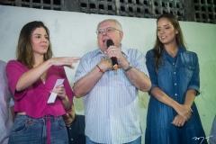 Carol Bezerra, Gonzaga Mota e Giselle Bezerra