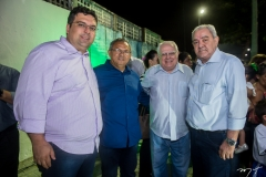 Denis Frota, Gilvan Paiva, Gonzaga Mota e Adail Fontenele