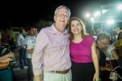 Gilberto Bastos e Fabiele Pessoa