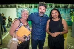 Leila Aragão, Junior Borges e Francilene Cirino