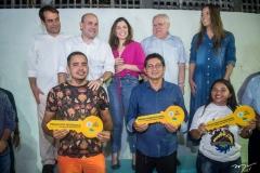Salmito Filho, Roberto Caludio, Carol Bezerra, Gonzaga Mota, Giselle Bezerra, Jeferson de Sousa, Raimundo Nonato e Leninha