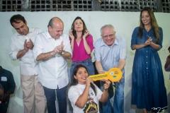 Salmito Filho, Roberto Claudio, Carol Bezerra, Gonzaga Mota e Giselle Bezerra