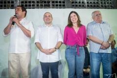 Salmito Filho, Roberto Claudio, Carol Bezerra e Gonzaga Mota