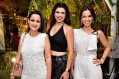 Cristiana Sucupira, Luciana Duarte e Michele Sucupira