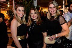 Livia Correa, Luciana Queiroz e Lili Meira