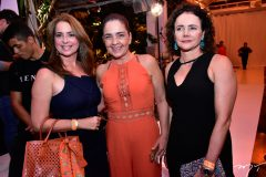 Marcia Andre, Giana Studart e Cristiniane Araujo