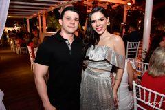 Pedro Paulo Carapeba e Nicole Vasconcelos
